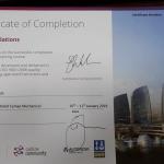 Cymap Mechanical Certification